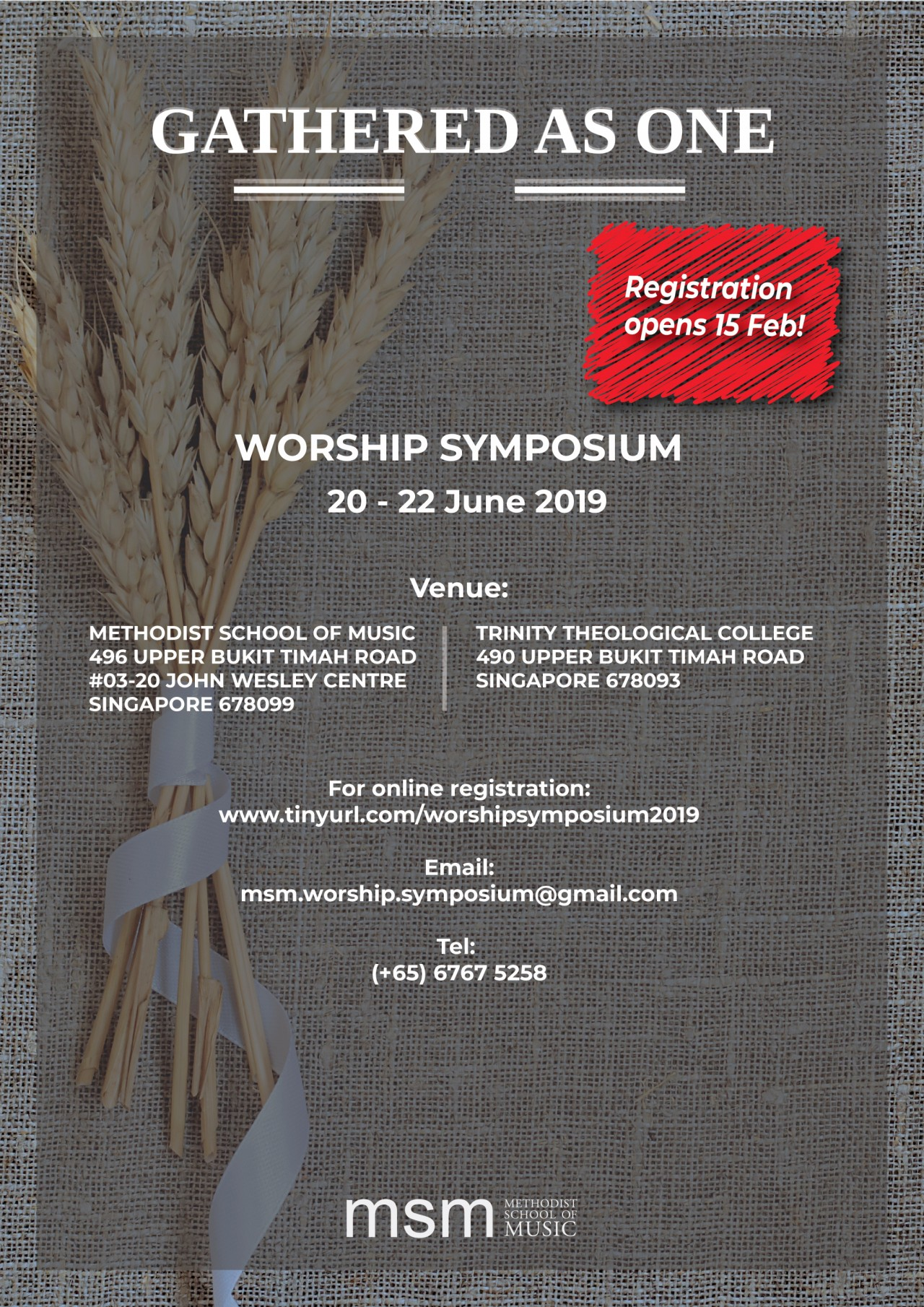 MSM: Worship Symposium 2019