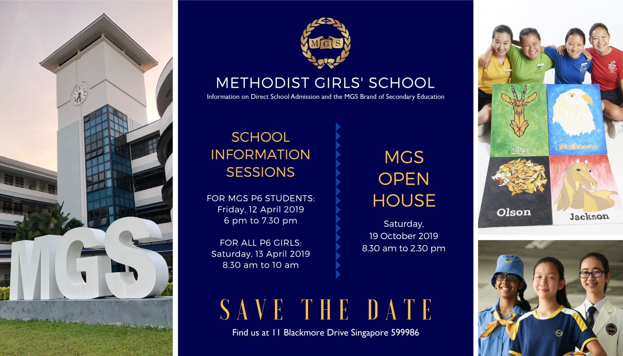 MGS Secondary School Information Session