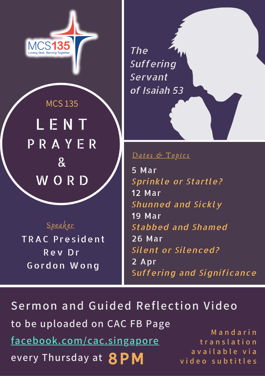 MCS 135: Lent Prayer and Word