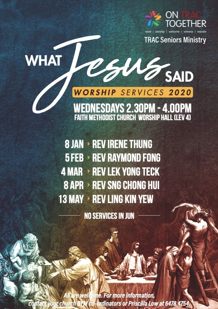 What Jesus Said (TRAC Seniors Ministry)