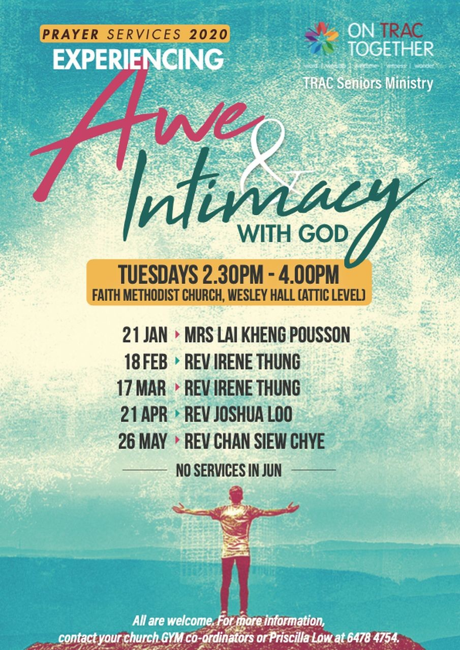 Awe & Intimacy with God (TRAC Seniors Ministry)