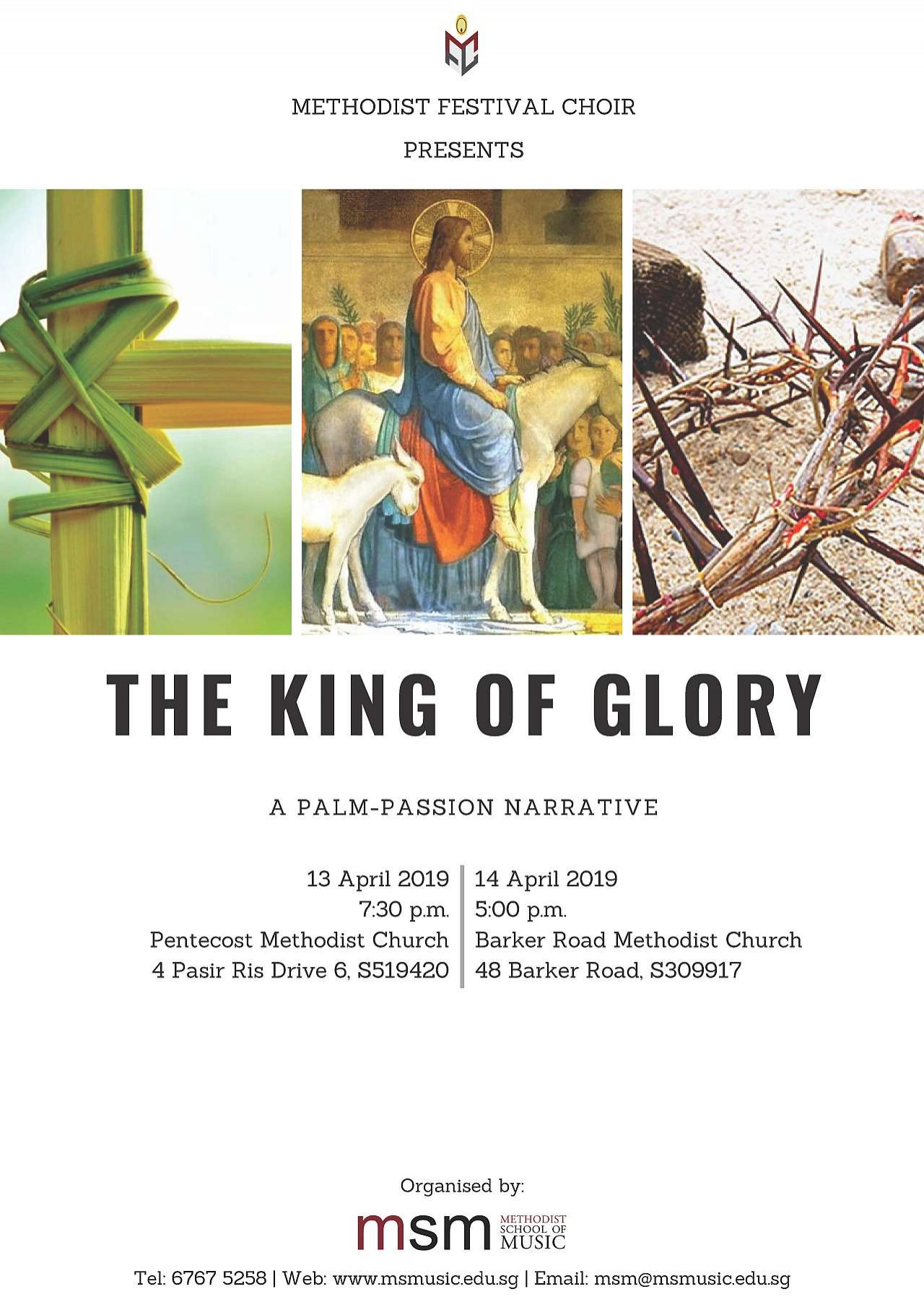 The King of Glory: A Palm-Passion Narrative (MFC)