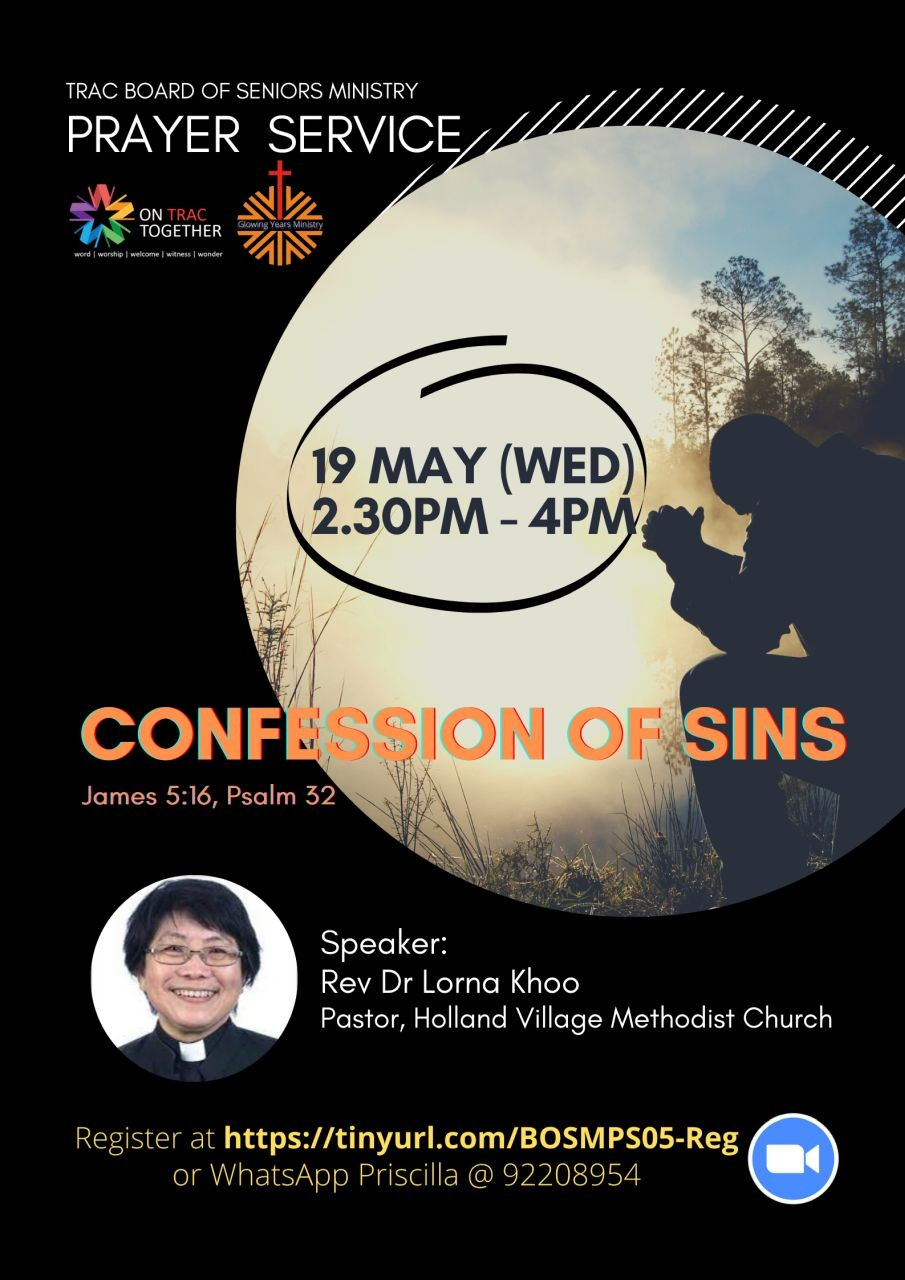 Confession of Sins (TRAC Seniors Ministry)