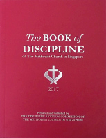 Book of Discipline of The Methodist Church in Singapore 2017