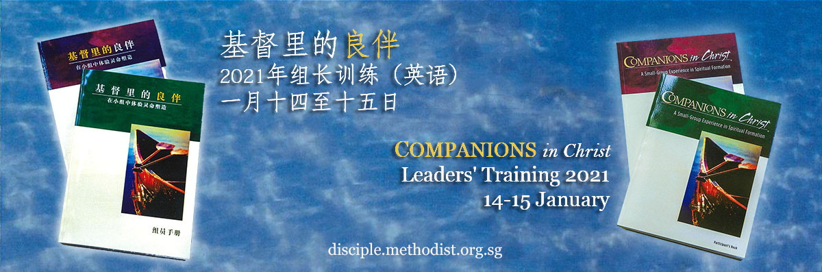 COMPANIONS in Christ Leaders' Training 2021
