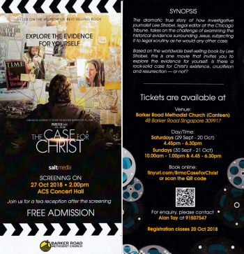 Movie Screening: Case for Christ