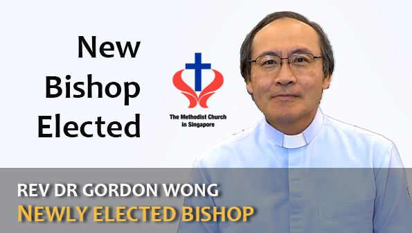 New Elected Methodist Bishop
